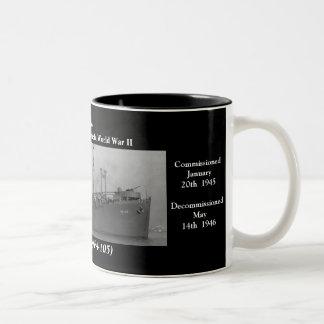 USS Shelby (APA-105) Mugs
