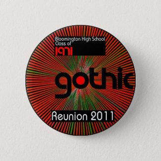 Utilisez un bouton au sujet de notre Réunion 2011  Badge