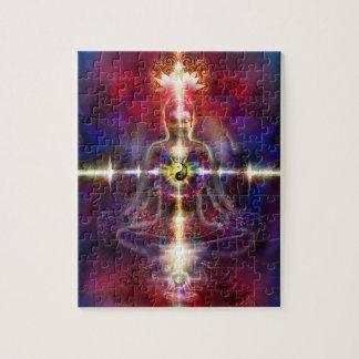 V074 réveillent des dragons de Bouddha Puzzle