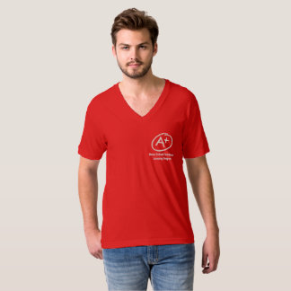 V - cou A+ Aide T-shirt