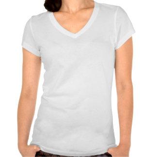 V-Cou de griffon de PHZ-Malades T-shirt