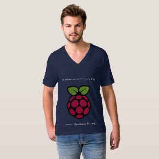 V-Cou de la framboise pi T-shirt