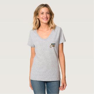 V de la femme - cou t-shirt