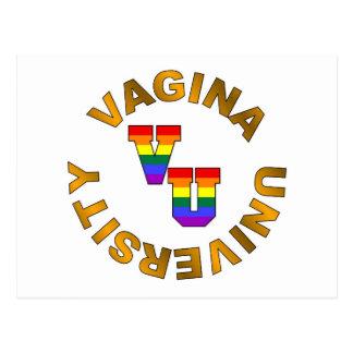 V.U. :  Université de vagin Carte Postale