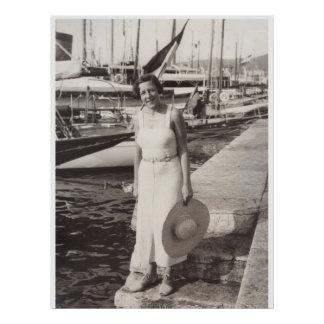 Vacances à Cannes, les années 1930 Posters