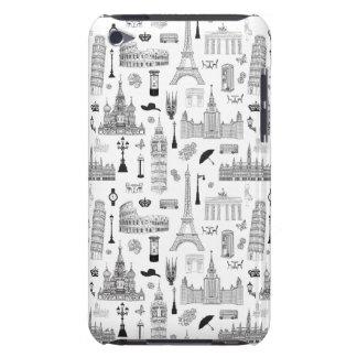Vacances dans le motif de l'Europe Coque iPod Case-Mate