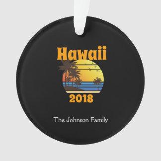 Vacances de famille assorties Hawaï 2018