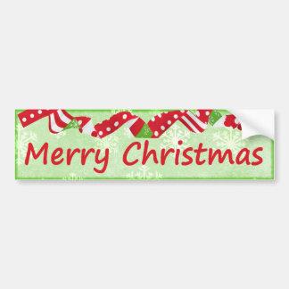 Vacances de fête décoratives de Joyeux Noël Autocollant De Voiture
