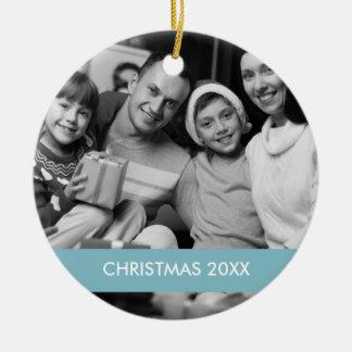 Vacances de l ornement de photo de Noël