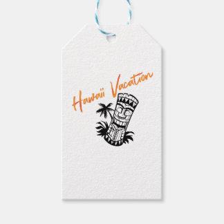 Vacances d'Hawaï Étiquettes-cadeau