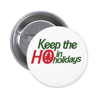 Vacances drôles Ho Badges