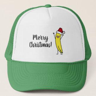 Vacances encourageantes de Noël de casquette de