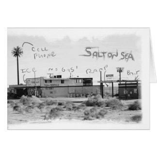 Vacances géniales - mer de Salton Carte De Vœux