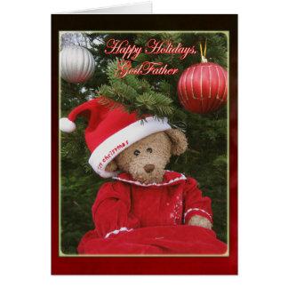 Vacances heureuses, parrain II Carte De Vœux