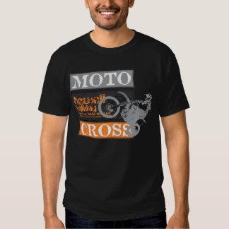 Vacances noires d'Hawaï de motocross d'hommes T-shirt