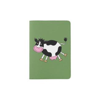 vache à danse d'asile de fous protège-passeports