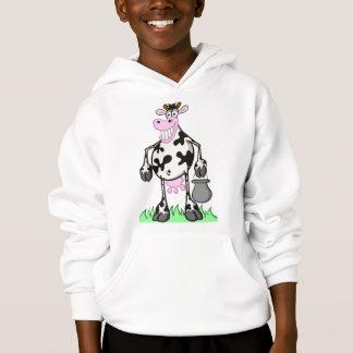 """vache """"bande dessinée """" à chandail d'enfant"""