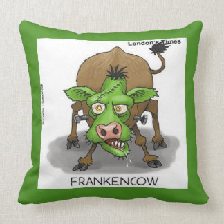 Vache drôle Throwpillow à monstre Coussin
