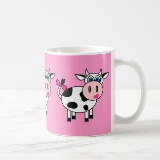 Vache heureuse à fille mug