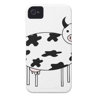 Vache illustrée coques iPhone 4