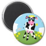 Vache laitière magnets pour réfrigérateur