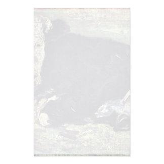 Vache menteuse par Vincent van Gogh Papier À Lettre Customisé