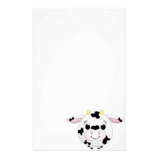 Vache mignonne papiers à lettres