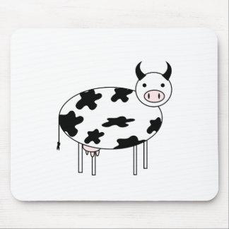 Vache mignonne tapis de souris