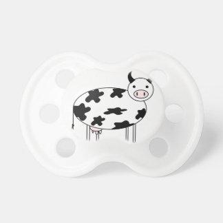 Vache mignonne tétine