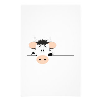 Vache Papier À Lettre Customisé