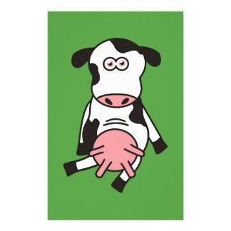 Vache Papier À Lettre Personnalisé