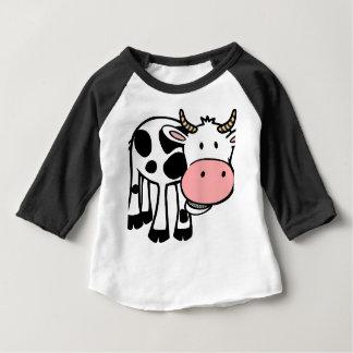 vache t-shirt pour bébé