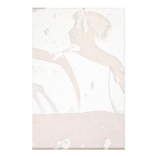Vacher par DES Zenue de Maler Der Grabkammer Papier À Lettre Customisable
