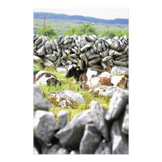 Vaches à MOO Papier À Lettre Personnalisable