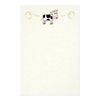 Vaches Papier À Lettre Personnalisé