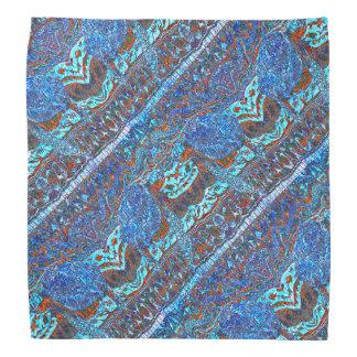Vague colorée de tortue de mer modelée bandana