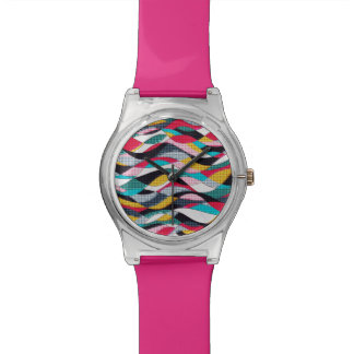 Vague d'art de bruit montres