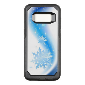 Vague de flocon de neige coque samsung galaxy s8 par OtterBox commuter