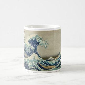 Vague de Kanagawa par Katsushika Hokusai Mug Blanc
