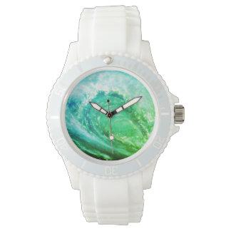 Vague de plage montre