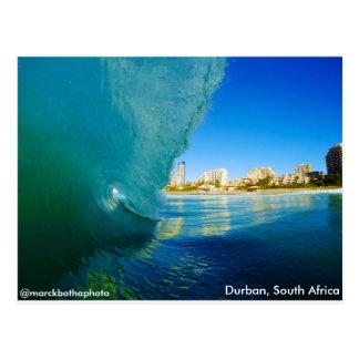 Vague de rupture à Durban, Afrique du Sud. Marck Cartes Postales