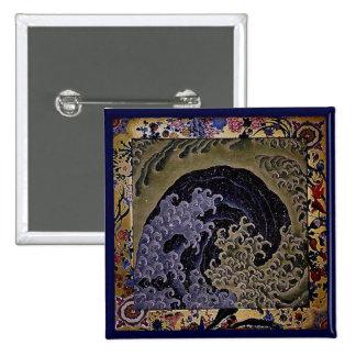 Vague féminine, beaux-arts de Japonais de Hokusai Pin's