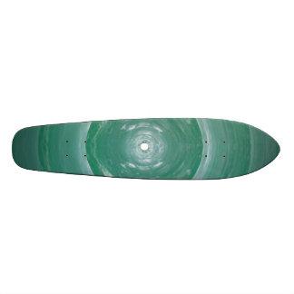 Vague hauturière de sphère verte : Supersonique su Plateau De Skate