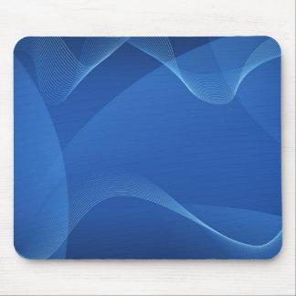 Vagues bleues tapis de souris