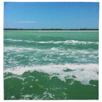 Vagues dans le Golfe du Mexique Serviettes En Tissus