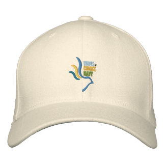 Vagues de casquette de baseball de marine de