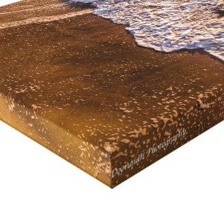 Vagues de plage de Wrightsville Toile