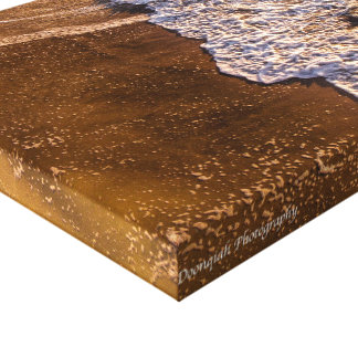 Vagues de plage de Wrightsville Toiles