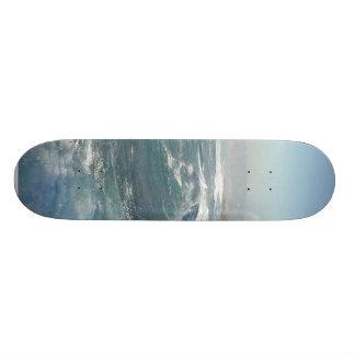 Vagues de plage d'océan de crique de La Jolla Plateaux De Skateboards Customisés