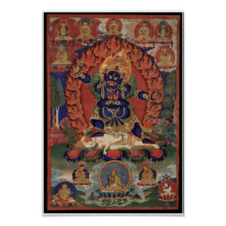 Vajrapani Bhutadamara Affiche